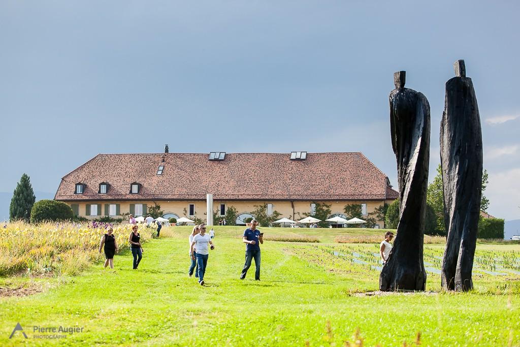 Jeux de piste au Chateau de Vullierens lors d'un séminaire corporate à Lausanne - Suisse